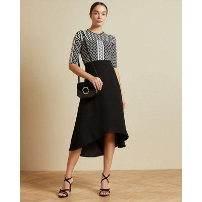 Tulip Skirt Midi Dress