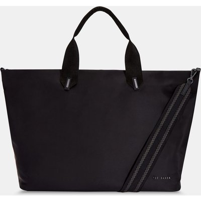 Plain Large Nylon Tote Bag