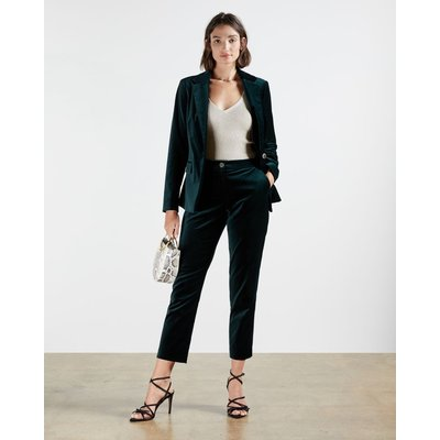 TED BAKER Satin Cotton Trousers