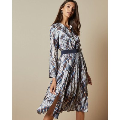 Quartz Print Midi Dress
