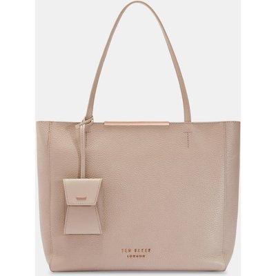 Large Bar Detail Shopper Bag