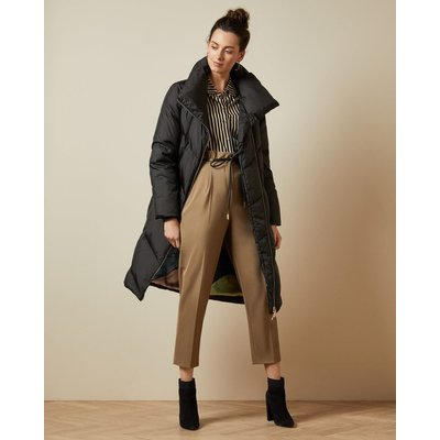 Collared Long Padded Coat