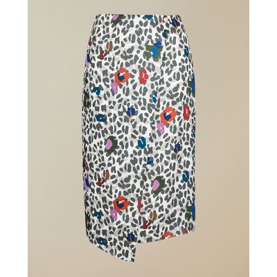 Wilderness Printed  Wrap Skirt