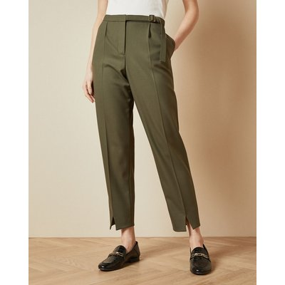 Belt Detail Tailored Trousers