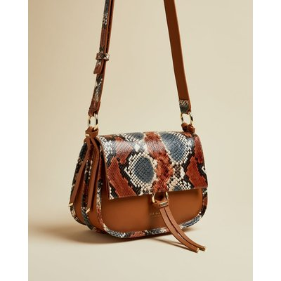 Exotic Leather Cross Body Bag