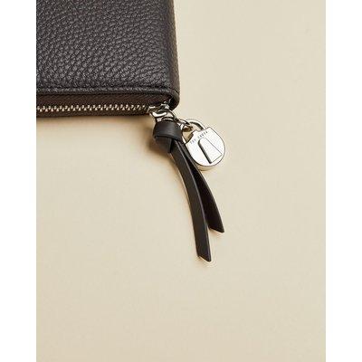 TED BAKER Großes Portemonnaie Aus Leder Mit Vorhängeschlossdetail