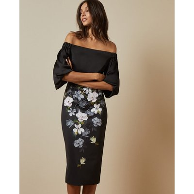 Off The Shoulder Opal Bodycon Dress