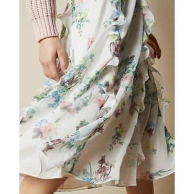 Pergola Printed Midi Skirt