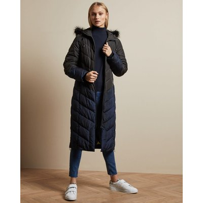 Chevron Quilted Padded Jacket