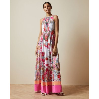 Samba High Neck Maxi Dress