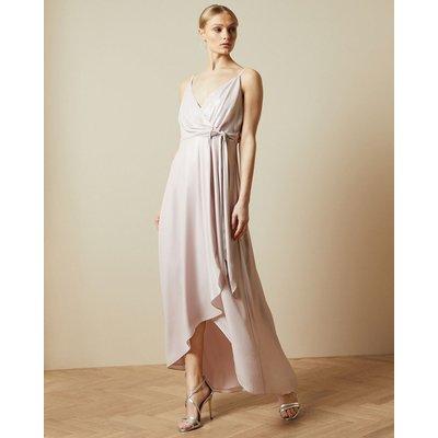 Waterfall Wrap Maxi Dress