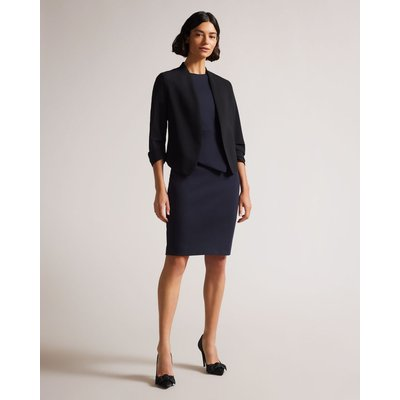 Cropped Jacket, Black