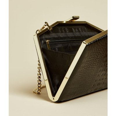 TED BAKER Leather Exotic Clutch Bag