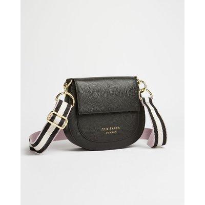Leather Round Cross Body Bag