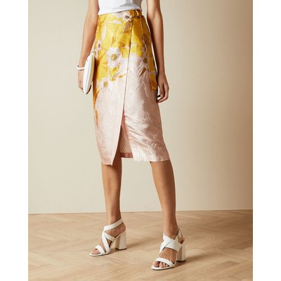 Cabana Printed Wrap Skirt