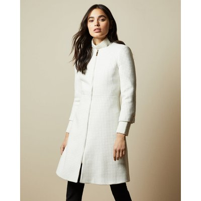 Textured Dress Coat
