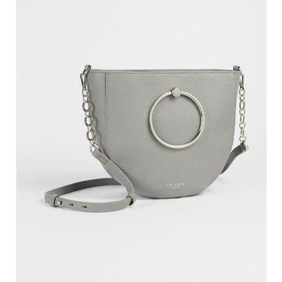 Circular Handle Medium Shoulder Bag