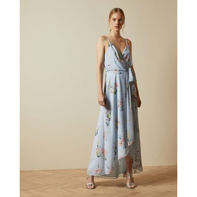 Sleeveless Elegant Wrap Dress