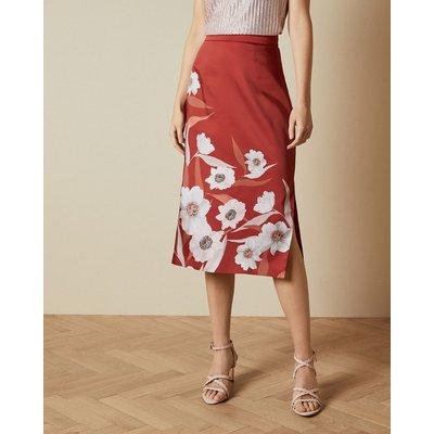 Cabana Printed Slip Skirt