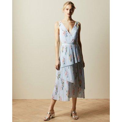 Woodland Sleeveless Tiered Dress
