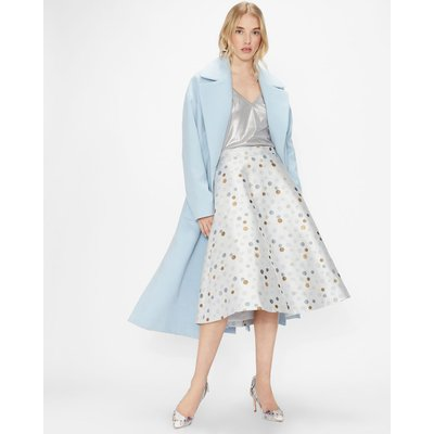 Jacquard Polka Dot Skirt