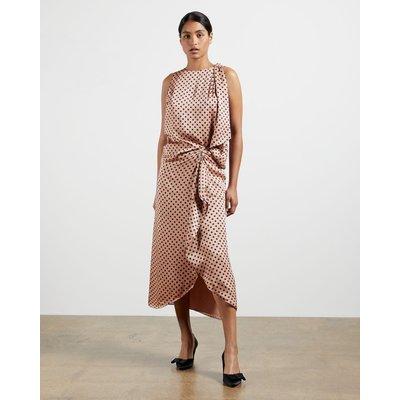 Polka Dot Ruffled Skirt