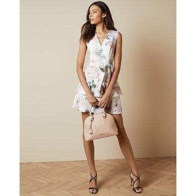 Bouquet Tiered Skirt Dress