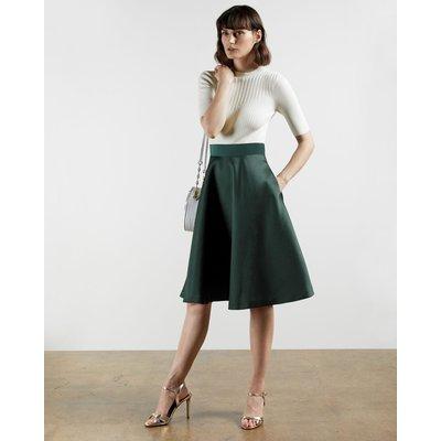 Full Skirt Mockable Dress