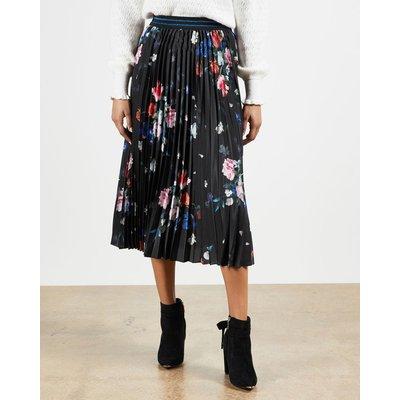 Sandalwood Pleated Skirt