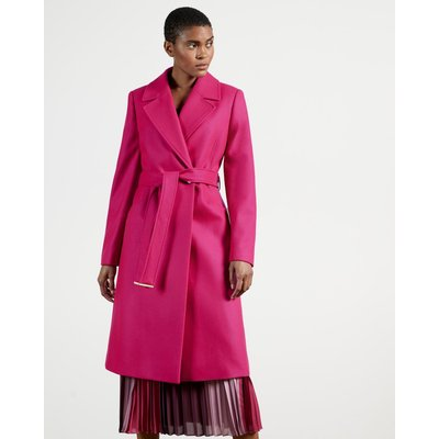 Long Collared Wool Coat