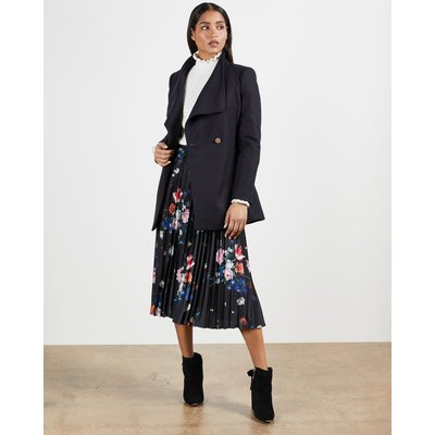 Wool-cashmere Wrap Coat