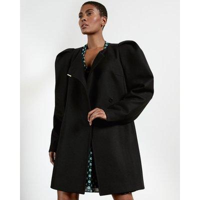 Exaggerated Shoulder Coat