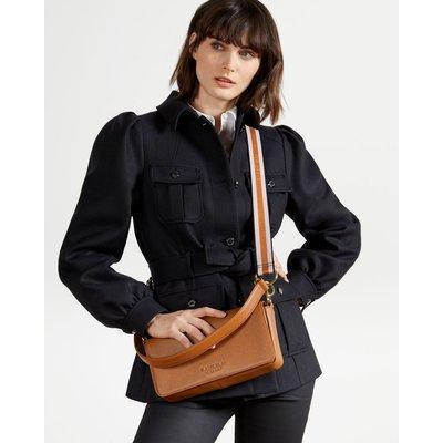 Webbing Strap Box Shoulder Bag