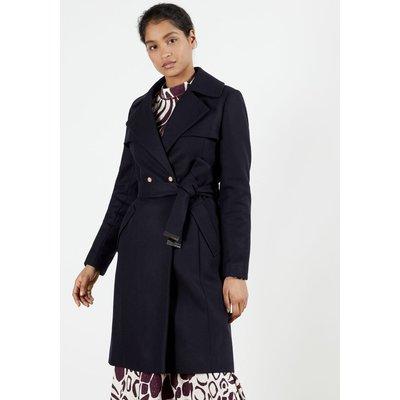 Mac Detail Wool Coat