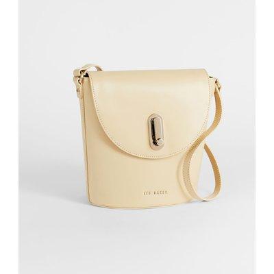 Twist Lock Cross Body Bag