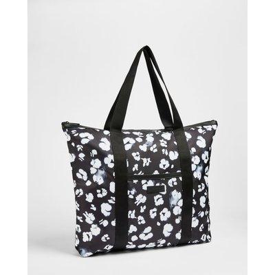 Animal Print Nylon Tote Bag