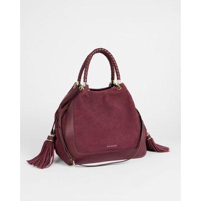 Braided Handle Tote Bag