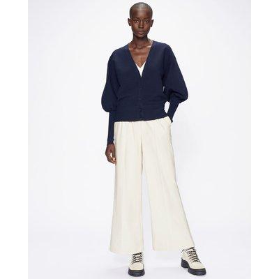 Pu Wide Leg Lounge Trouser