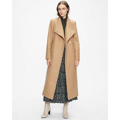 Long Length Wool Wrap Coat