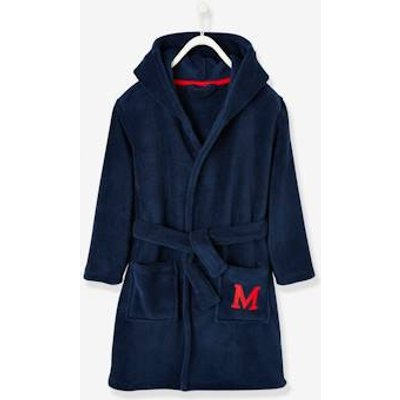 Dressing Gown for Boys, Mickey Mouse® by Disney blue dark solid with design