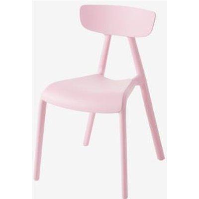 Indoor/Outdoor Chair for Children, Rainbow pink light solid