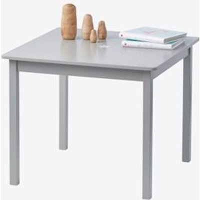 Sirius Childrens' Play Table grey medium solid