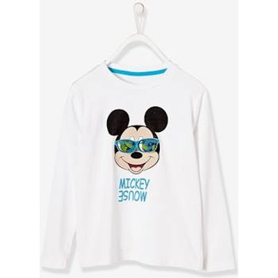 Boys' Stylish Mickey Mouse® Top white light solid