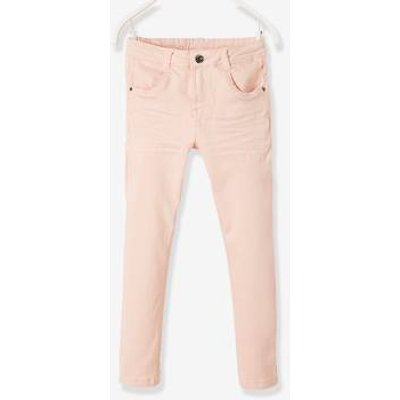 NARROW Fit - Girls' Slim Fit Trousers blue light solid