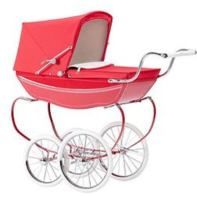 Silver Cross Oberon Poppy Red Dolls Pram