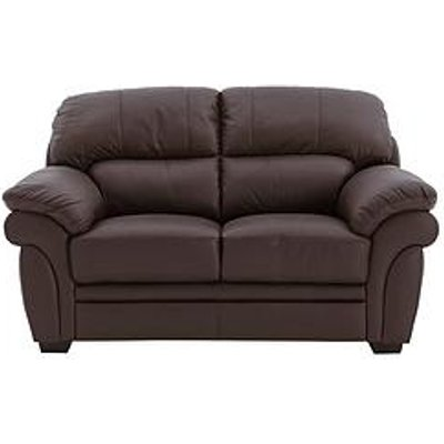 Portland 2 Seater Leather Sofa