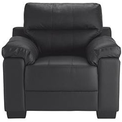 Saskia Leather/Faux Leather Armchair