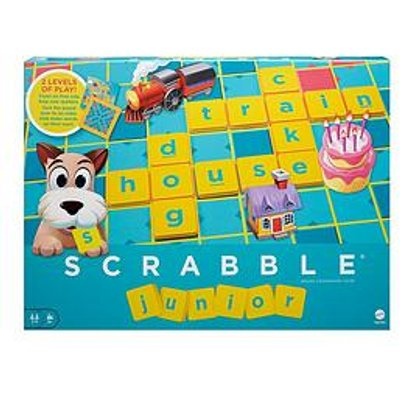 Mattel Scrabble Junior Board Game