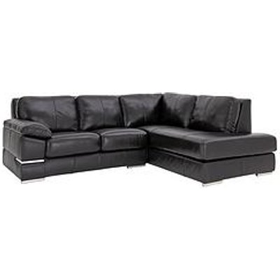 Primo Italian Leather Right Hand Corner Chaise Sofa