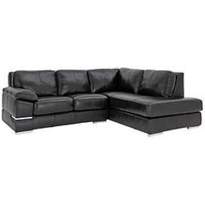 Primo Italian Leather Right Hand Corner Chaise Sofa